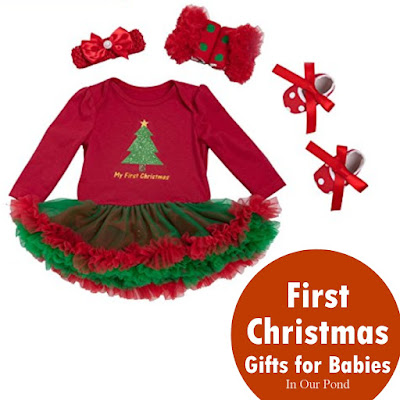 Baby's First Christmas Gift Guide from In Our Pond  #toys  #holidays