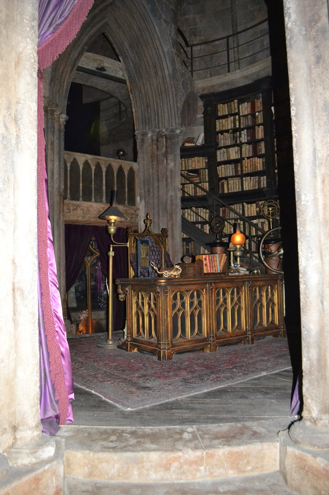 Dumbledores office at Universal - Islands of Adventure