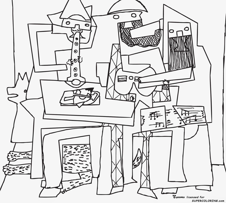Pintores Famosos Pablo Picasso Para Ni 241 Os Cuadros Para