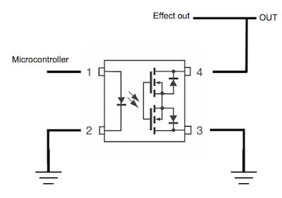True Bypass Looper Pull Down Resistor