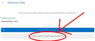 Fazer e configurar conta do Hotmail no celular