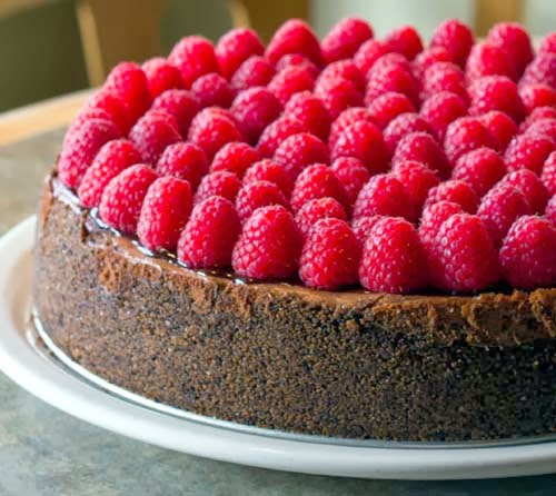 Dark Chocolate Raspberry Cheesecake Recipe