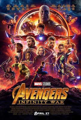avengers wojna bez granic plakat iron man thor czarna pantera
