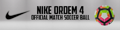 PES 2013 Nike Ordem 4 Official Match Soccer Ball 2016-2017