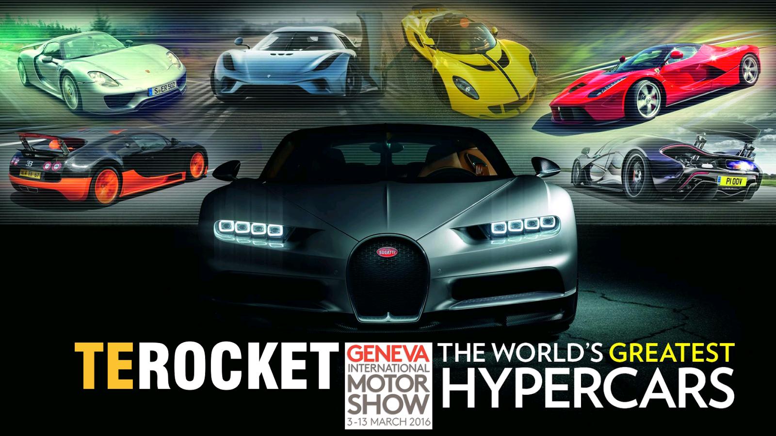 Geneva Motor Show 2016 từ A đến Z