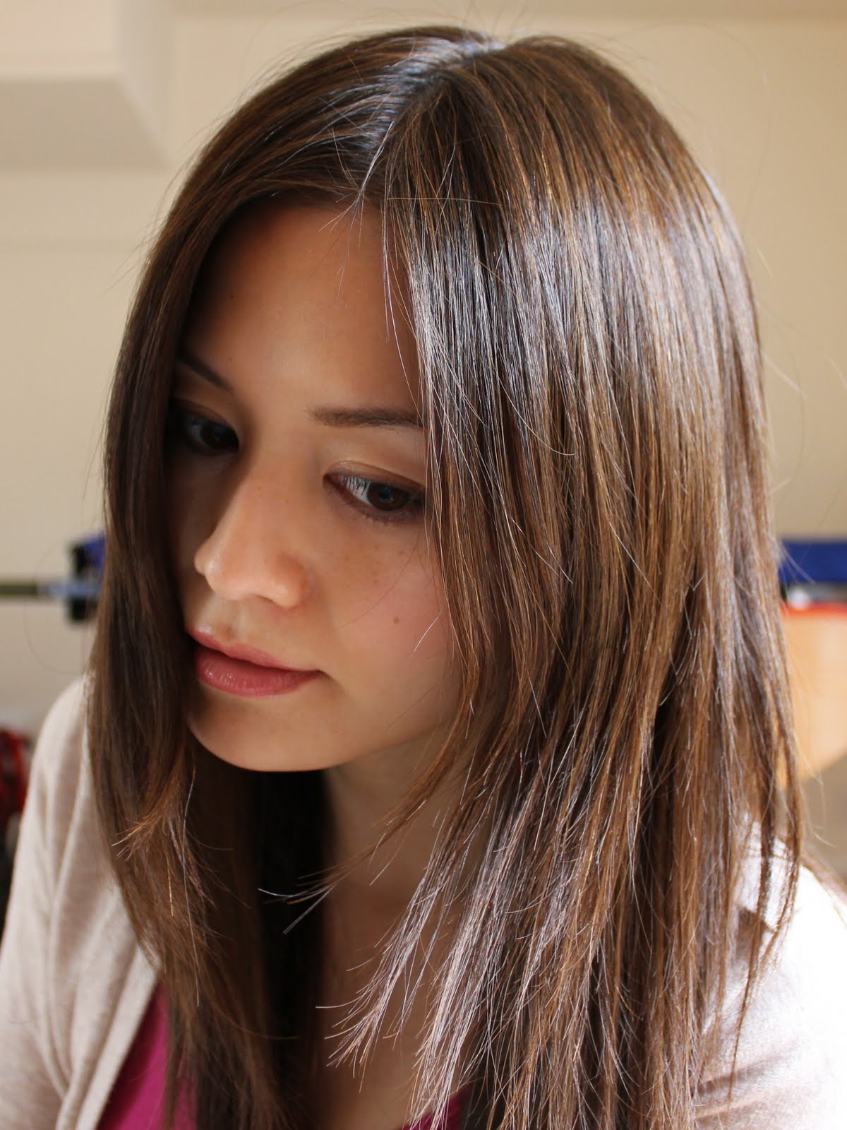 Brown Hair With Black Highlights