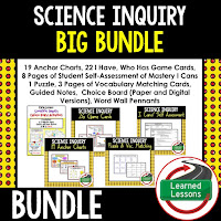 Scientific Inquiry, EARTH SCIENCE MEGA BUNDLE, Earth Science Curriculum, Anchor Charts, Game Cards, Puzzles, Vocabulary Activities, Choice Boards, Digital Interactive Notebooks, Word Walls, Picture Puzzles, Test Prep