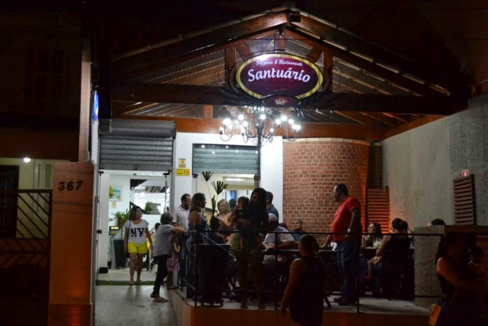 Pizzaria e Restaurante Santuario em Santos