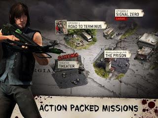 The Walking Dead : No Man's Land APK + Data Obb