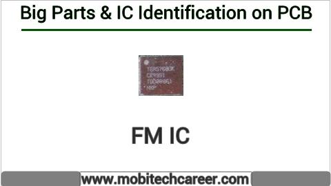 Fm ic identification on mobile cell phone smartphone pcb circuit board motherboad | Fm ic ki mobile phone pcb par pahchan kaise kare | Fm ic की मोबाइल रिपेयरिंग में पीसीबी पर पहचान करना सीखें कार्य व खराबियाँ | मोबाइल रिपेयर करना हिन्दी में सीखें | PCB पर All IC पहचान