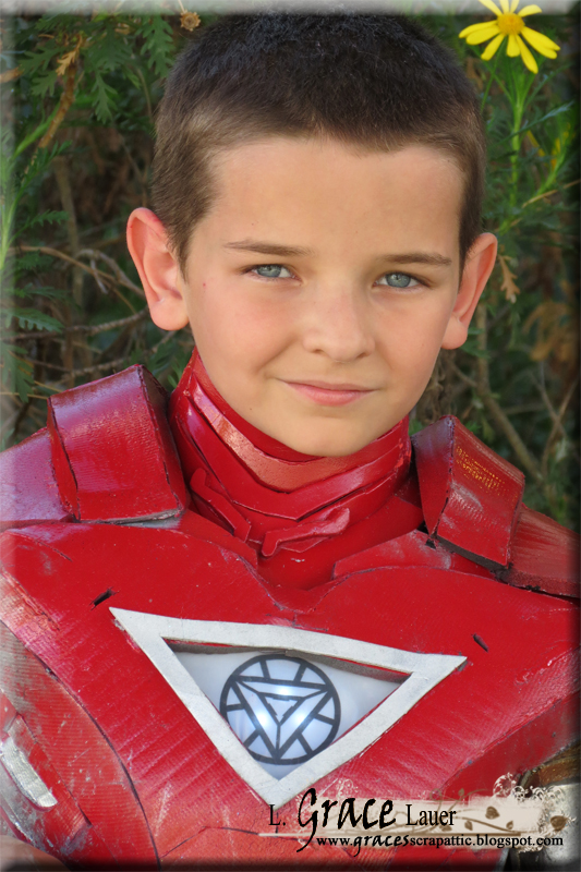 Tony Stark Halloween Costume.Watch Out Tony Stark There Is A New Iron Man In Town Boy Halloween
