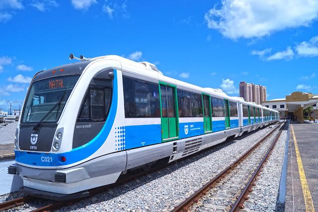 Resultado de imagem para Funcionamento dos Trens Urbanos de Natal no Feriado da Independência