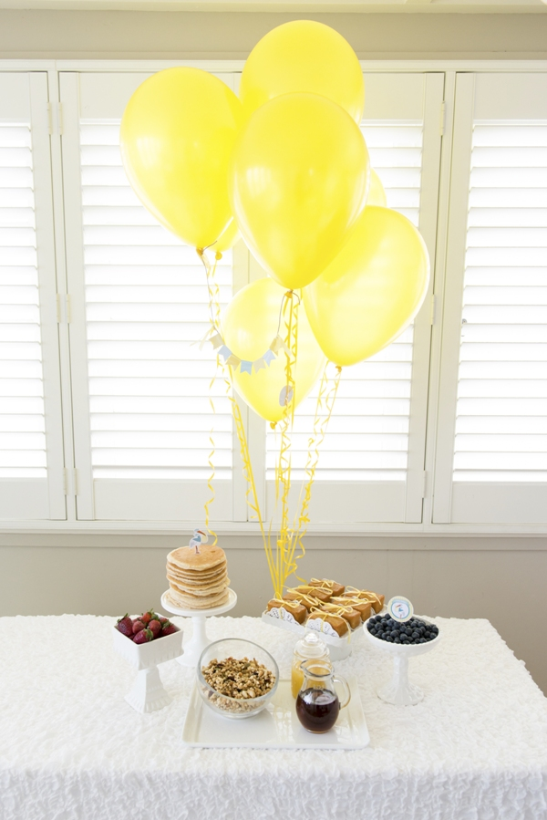 Stork Themed Baby Shower Brunch & DIY Party Ideas - Party ...