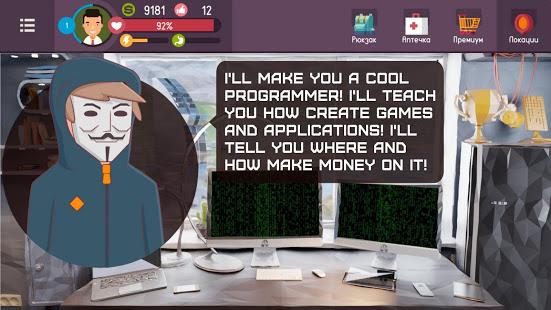 Hacker – tap smartphone tycoon, life simulator v 1 2 0 hack mod apk