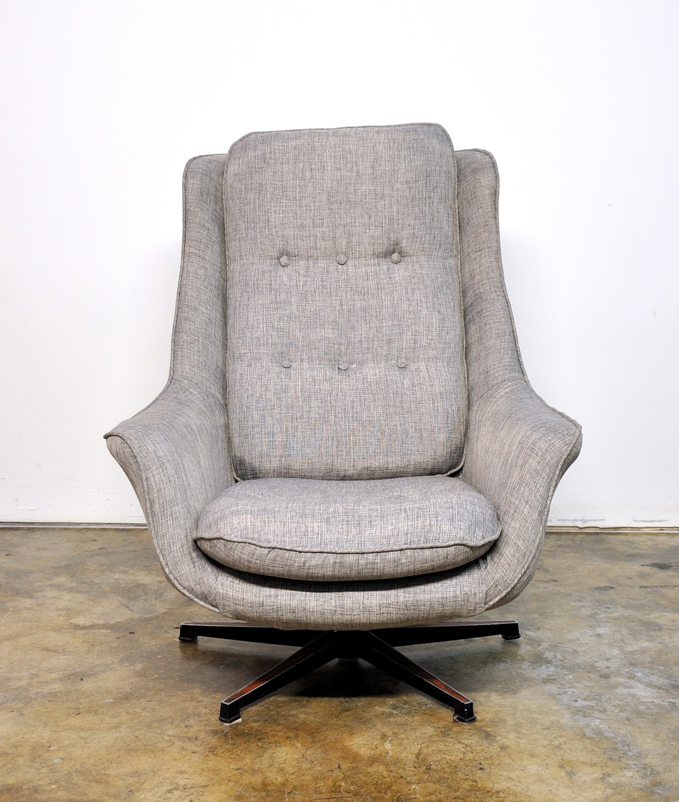 milo baughman chair covers for wedding rustic select modern: mid century swivel lounge