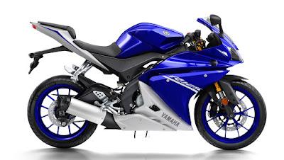 Yamaha YZF R125 side profile
