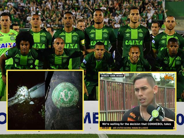 Pesawat Terhempas: 'Jadikan Mereka Juara' – Pasukan Lawan Mahu Chapecoense Diisytihar Juara Copa Sudamericana Selepas Nahas Pesawat