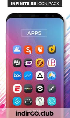 infinite s9 icon pack apk