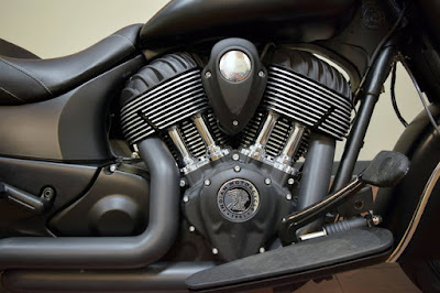 All New 2016 Indian Chief Dark Horse engine Hd image