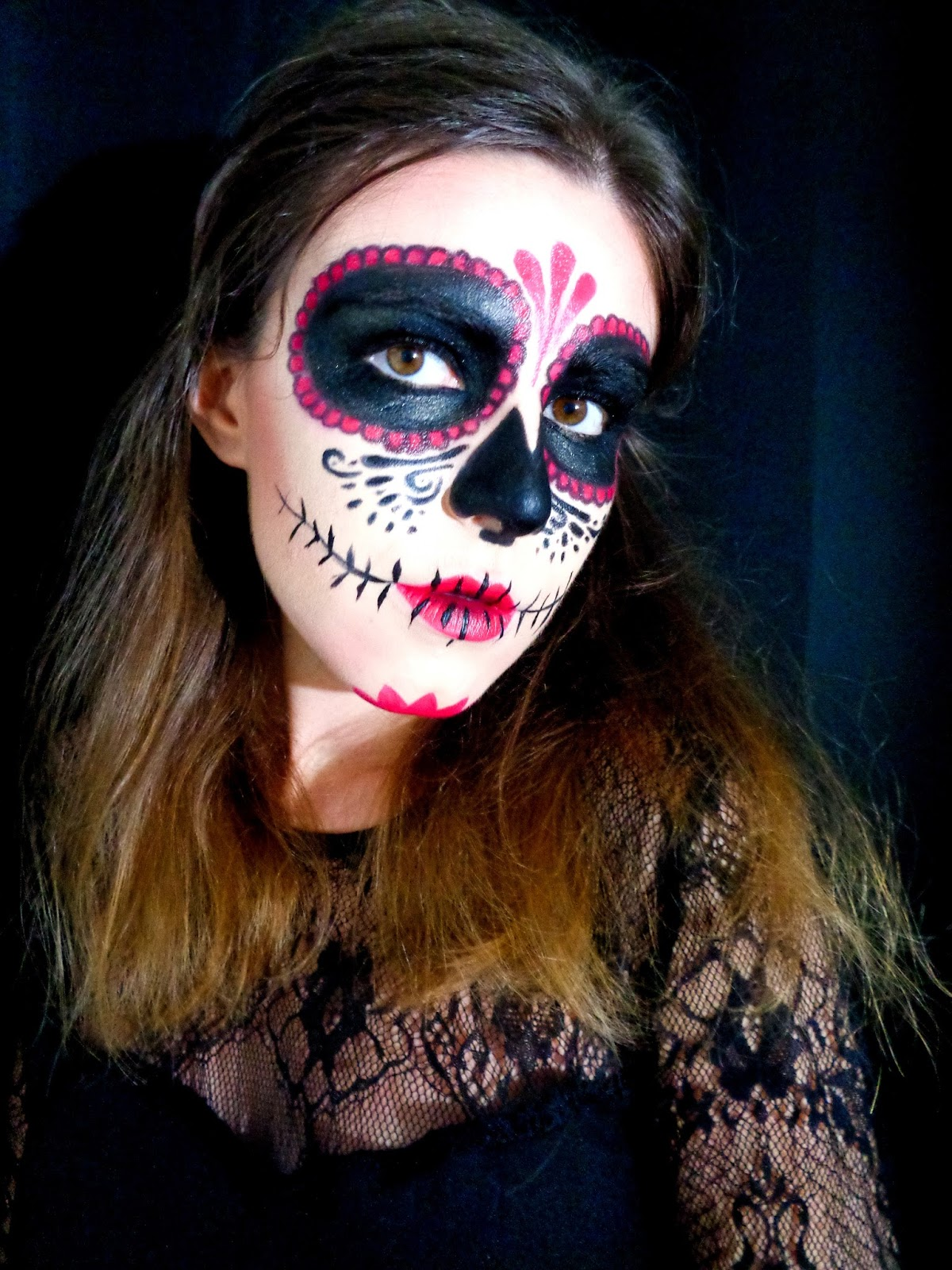 Bevorzugt Sugar Skull : maquillage d'Halloween - The Mariette blog - Blog beauté QD57