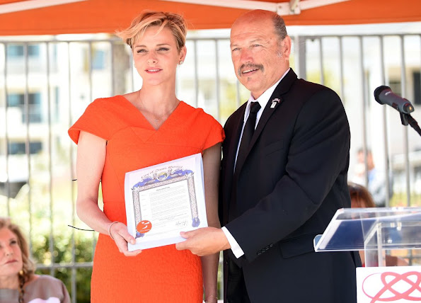 Princess Charlene of Monaco official launch the U.S. chapter of her foundation (The Princess Charlene of Monaco Foundation)
