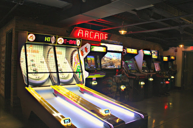 Getting away from it all while playing nostalgic games at Punch Bowl Social.