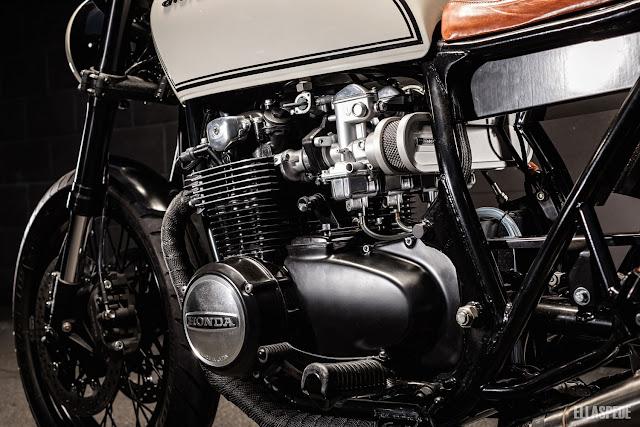 Honda CB550 1978 By Ellaspede Hell Kustom