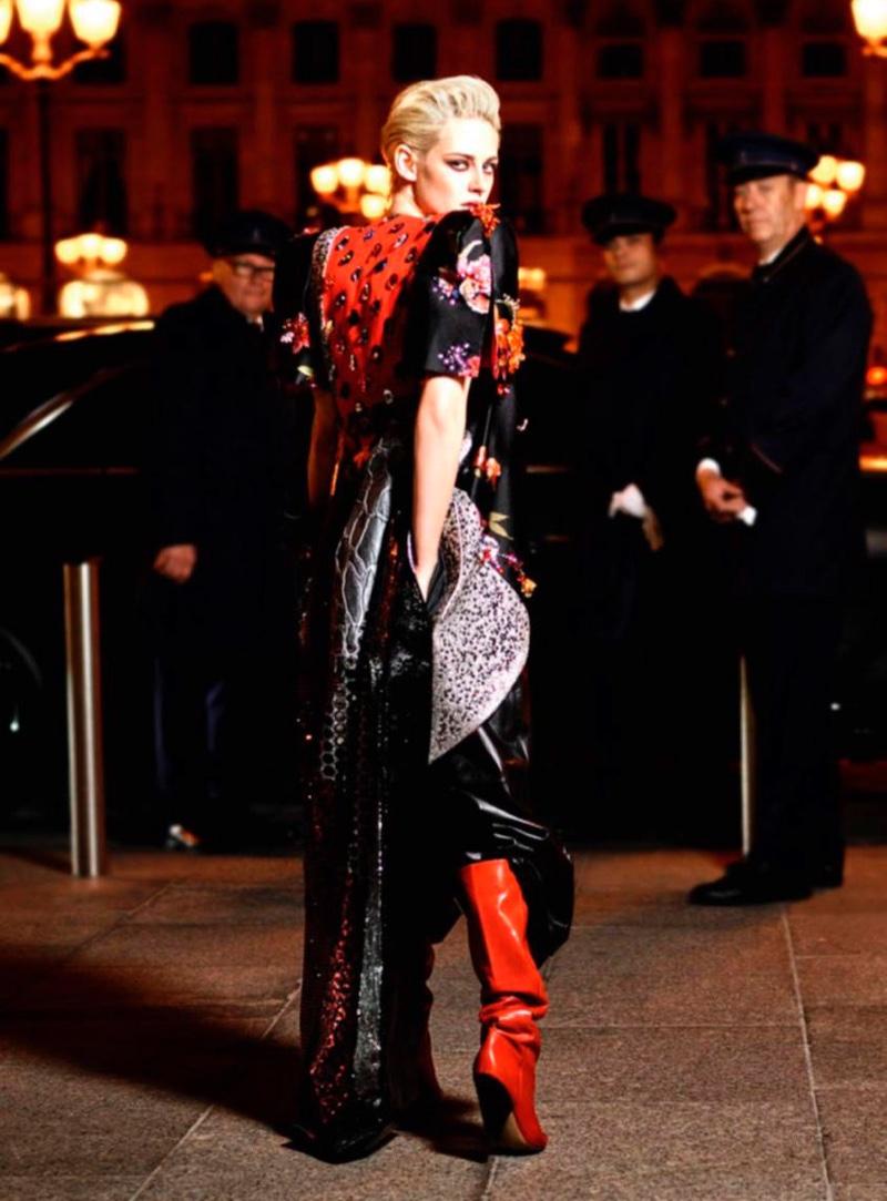 Kristen Stewart par Karl Lagerfeld pour VOGUE Paris - Décembre-Janvier 2016/17