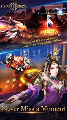 Chaos Legends v1.5 MOD APK Unlimited Money [Terbaru]