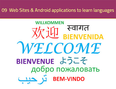 9 Sites & Android applications to learn languages