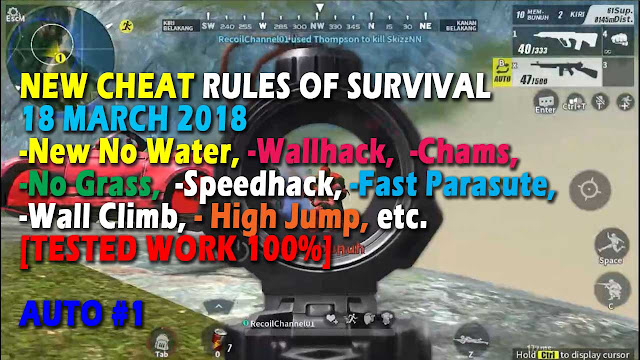 Cheat Rules of Survival Serin 4.0 Update 18 maret 2018 !