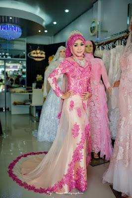 Gaun Pengantin Muslimah Kebaya Pernikahan