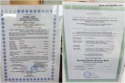 Sertifikat halal dan sertifikat jaminan halal sdh dimiliki oleh HokBen