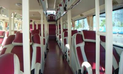 Nội thất đầy đủ và tiện nghi của những chuyến xe Open Bus  sẽ mang tới cho quý khách một chuyến đi thoải mái