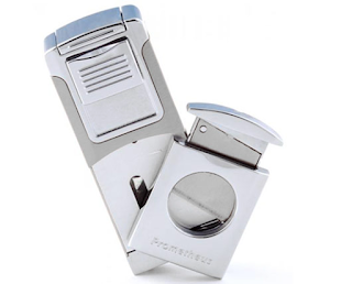 Prometheus Robusto Lighter Built In Cutter