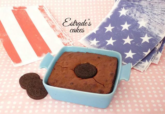 receta de brownie de Oreo 3