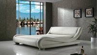 Greatime B1070 Upholstered Bed