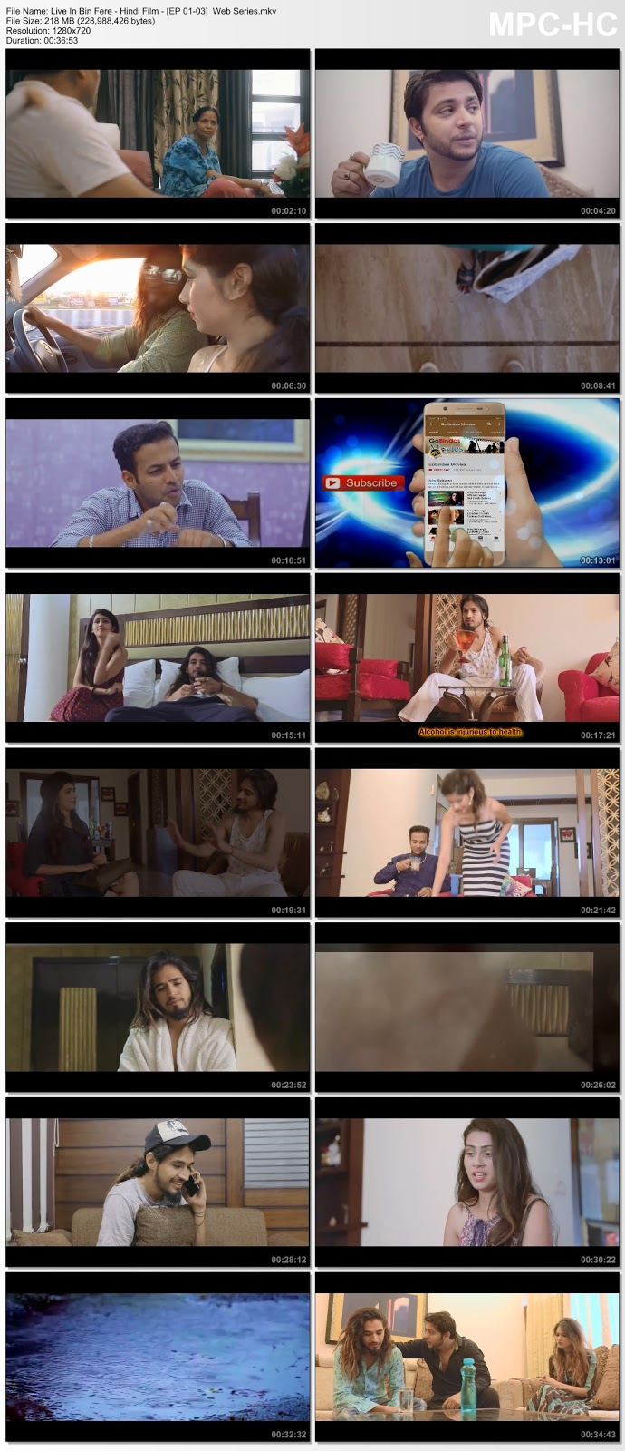 Live In Bin Fere (2019) Web Series S01 Complete [EP 1-3] 720p Web-DL 200MB Desirehub