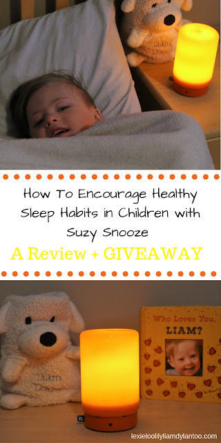 How To Encourage Healthy Sleep Habits in Children with Suzy Snooze - A Review + Giveaway from BleepBleeps #baby #BleepBleeps #DigitalParenting #SuzySnooze #SmartParenting #BabyMonitor #I#SleepTraining #NurseryIdeas #BabyShower #Review #ProductTesting #Giveaway #momblogger