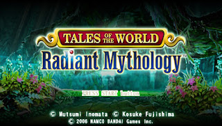 Game Tales of The World Radiant Mythology PPSSPP/ISO For Android