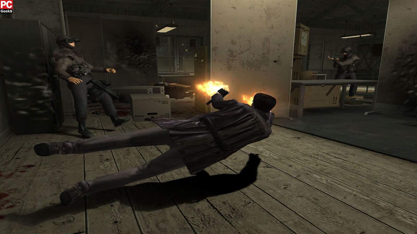 تحميل لعبة Max Payne 2 مضغوطة برابط واحد مباشر + تورنت كاملة مجانا