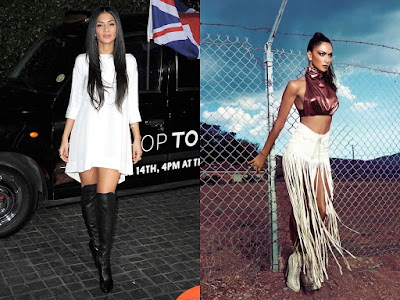 Nicole Scherzinger reveals her Inner Body in see through dress & sexy legs