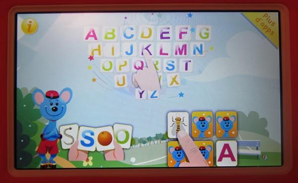 KiDTab alphabet