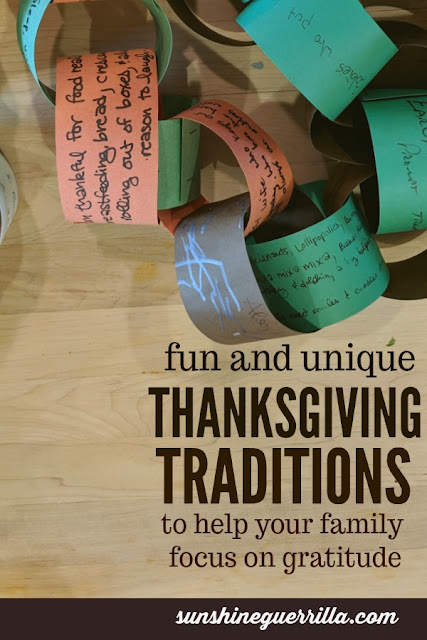 Twelve Thanksgiving Traditions to Help Us Focus on Gratitude
