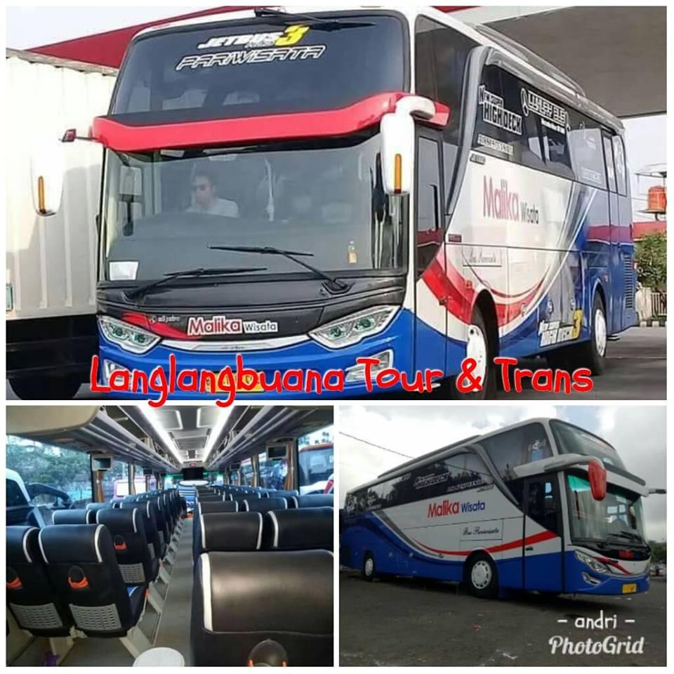 Langlang buana tour WA/LINE 7 - 7: SEWA Bus
