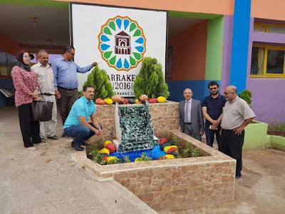 المديرية الإقليمية لبني ملال :مدرسة وادي المخازن تتصدر المرتبة الأولى وتفوز باللقب الوطني للنظافة والبيئة