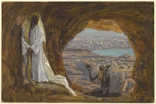 Jesus in the wilderness