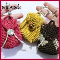Mochilita a crochet