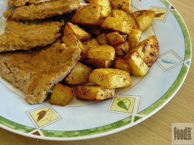 Fleica de soia cu cartofi condimentați