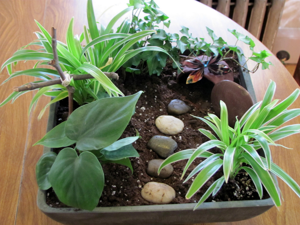 Thoughts From The Sheepfold Try This Easter Garden